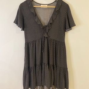 Auguste the Label Spotted Mini Dress size 8